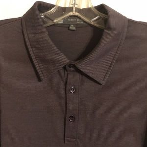 Robert Barakett long sleeve polo shirt.
